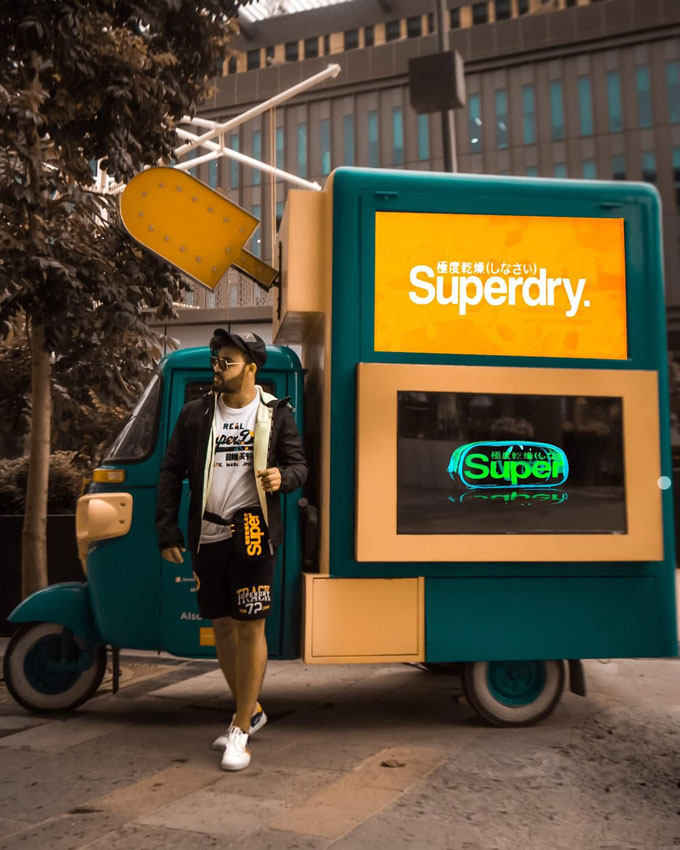 Superdry - Influencer Marketing Campaign